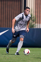 Brandon Allen (10) of Georgetown carries the ball at Shaw Field in Washington, DC.  Georgetown defeated Seton Hall, 8-0.