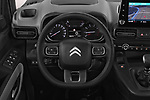 Car pictures of steering wheel view of a 2019 Citroen Berlingo Feel 5 Door MPV