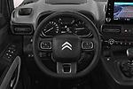Car pictures of steering wheel view of a 2019 Citroen Berlingo Feel 5 Door MPV