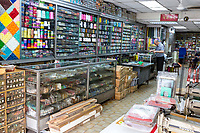 Sewing Supplies Shop, Ipoh, Malaysia.