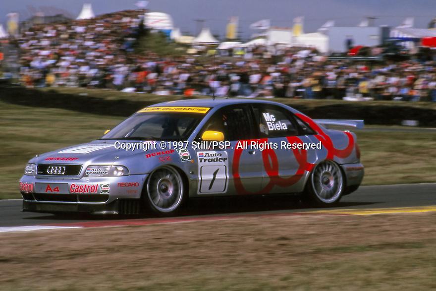 1997 British Touring Car Championship. #1 Frank Biela (DUE). Audi Sport UK. Audi A4 Quattro.