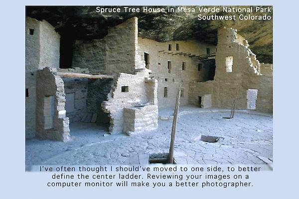 Cliff dwelling, Mesa Verde National Park,  Colorado.