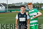 Brothers Wayne and Terry Sparling who play for Killarney Celtic will play against each other as the Killarney Celtic A and B teams have both reached the Kerry soccer league cup final.