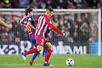 Fernando Torres (r) of Atletico de Madrid fights for the ball with Sergi Roberto Carnicer of FC Barcelona during their Copa del Rey 2016-17 Semi-final match between FC Barcelona and Atletico de Madrid at the Camp Nou on 07 February 2017 in Barcelona, Spain. Photo by Diego Gonzalez Souto / Power Sport Images