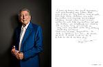 Tony Bennett photographed for ART & SOUL