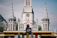 cycling is a religion... especially when the race start is in Lourdes<br /> <br /> Stage 19: Lourdes > Laruns (200km)<br /> <br /> 105th Tour de France 2018<br /> ©kramon