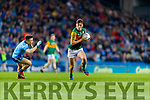 David Clifford, Kerry in action against Eoin Murchan, Dublin during the Allianz Football League Division 1 Round 1 match between Dublin and Kerry at Croke Park on Saturday.