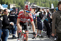 Maxime Monfort (BEL/Lotto-Soudal) after the finish<br /> <br /> Giro d'Italia 2015<br /> stage 19: Gravellona Toce - Cervinia (236km)