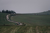 rainy Tuscany still has beauty to it.<br /> <br /> 12th Strade Bianche 2018<br /> Siena > Siena: 184km (ITALY)