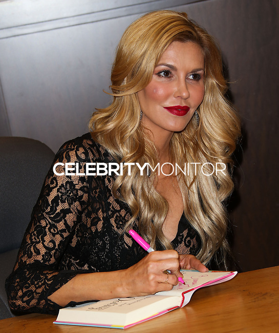 """LOS ANGELES, CA, USA - FEBRUARY 19: Brandi Glanville Signs Copies Of Her New Book """"Drinking & Dating"""" held at Barnes & Noble - The Grove on February 19, 2014 in Los Angeles, California, United States. (Photo by Xavier Collin/Celebrity Monitor)"""