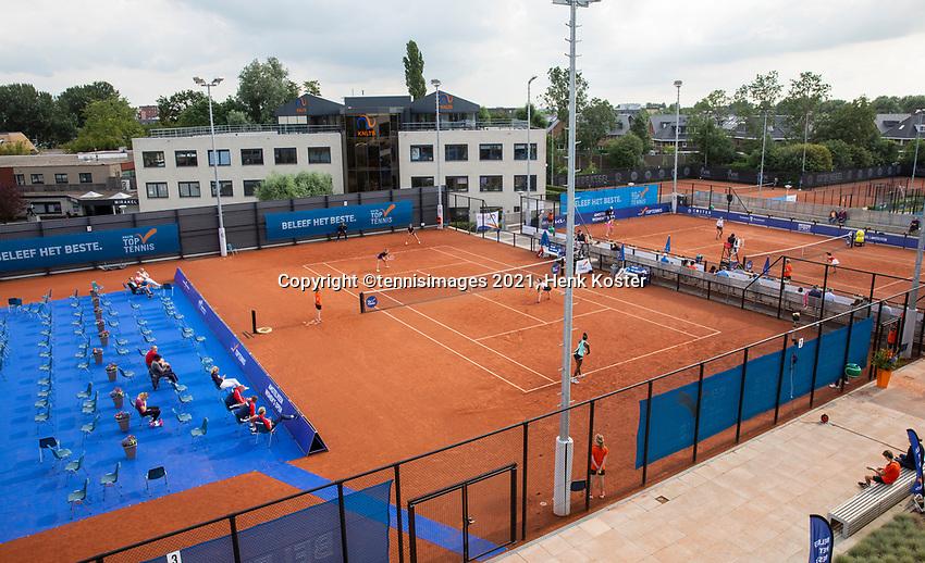 Amstelveen, Netherlands, 7 Juli, 2021, National Tennis Center, NTC, Amstelveen Womans Open,  Overall vieuw<br /> Photo: Henk Koster/tennisimages.com