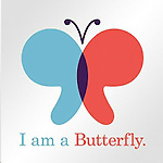 """WATERBURY -- Dec. 24 -- 23_NEW_122413MDPHO04 -- This image was created to serve as a social media icon promoting the planned $10 million Catherine Violet Hubbard Animal Sanctuary. The butterfly is meant to evoke Catherine's practice of catching butterflies, asking them to """"Tell your friends I am kind,"""" then setting them free. Catherine lost her life last year in the Sandy Hook Elementary School shooting. Contributed by Harmony Verna."""