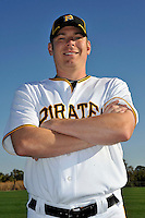 Feb 28, 2010; Bradenton, FL, USA; Pittsburgh Pirates  pitcher Brian Bass (74) during  photoday at Pirate City. Mandatory Credit: Tomasso De Rosa/ Four Seam Images