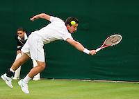 25-06-13, England, London,  AELTC, Wimbledon, Tennis, Wimbledon 2013, Day two, Igor Sijsling (NED)<br /> <br /> <br /> <br /> Photo: Henk Koster