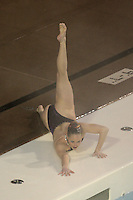 23 February 2008: Sara Lowe during Stanford's 101-62.5 victory over Arizona at the Avery Aquatic Center in Stanford, CA.