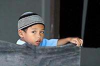 Home Island Child, Cocos Keeling Islands, Indian Ocean