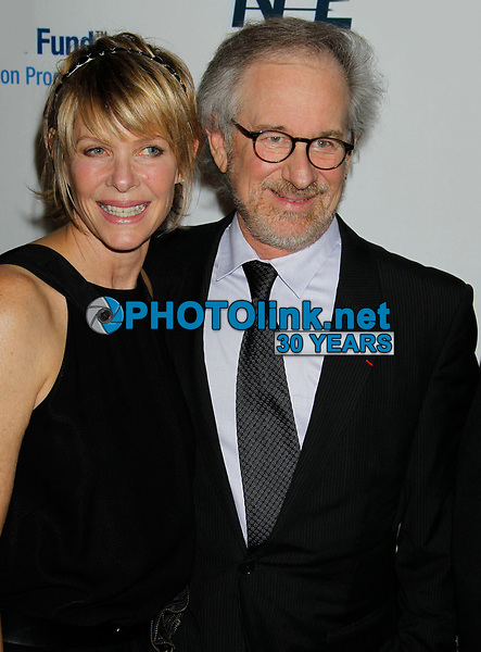Steven Speilberg Kate Capshaw 2010<br /> Photo by Nick Sherwood-PHOTOlink
