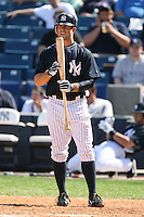 March 17th 2008:  Brett Gardner of the New York Yankees during a Spring Training game at Legends Field in Tampa, FL.  Photo by:  Mike Janes/Four Seam Images