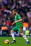 Victor Laguardia Cisneros of Deportivo Alaves in action during the La Liga 2018-19 match between Atletico de Madrid and Deportivo Alaves at Wanda Metropolitano on December 08 2018 in Madrid, Spain. Photo by Diego Souto / Power Sport Images