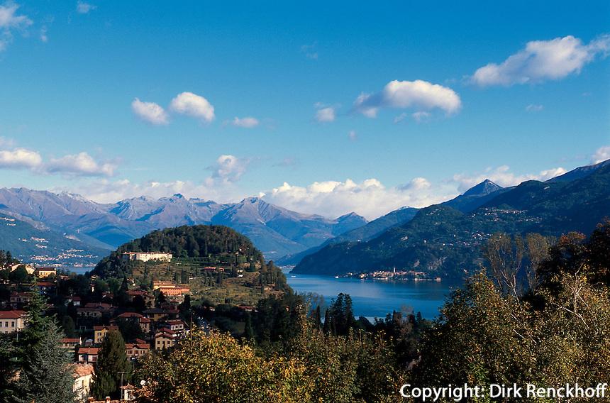 Italien, Lombardei, Bellagio am Comer See