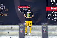 22nd December 2020, Orlando, Florida, USA;  Tigres Andre-Pierre Gignac is awarded the top scorer award after the Concacaf Championship between LAFC and Tigres UANL on December 22, 2020, at Exploria Stadium in Orlando, FL.