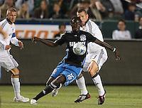 Kei Kamara.San Jose Earthquakes vs Los Angeles Galax, April 4, 2008, in Carson California. The Galaxy won 2-0.