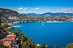 Frankreich, Provence-Alpes-Côte d'Azur, Théoule-sur-Mer: die Bucht vor Théoule-sur-Mer im Golfe de la Napoule | France, Provence-Alpes-Côte d'Azur, Théoule-sur-Mer: bay of Théoule-sur-Mer at Golfe de la Napoule