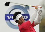 SUZHOU, CHINA - APRIL 18:  Y.E. Yang of Korea tees off on the 2nd hole during the Round Four of the Volvo China Open on April 18, 2010 in Suzhou, China.  Photo by Victor Fraile / The Power of Sport Images