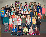 March 30, 2017- Tuscola, IL- Students after their completion of their Christian curriculum in the Tuscola United Methodist Church's after school PASS program. The PASS program offers a safe environment to students after school. Registration for 2017-2018 school year can be made by contacting Susan Hall at the Tuscola United Methodist Church. [Photo: Douglas Cottle]