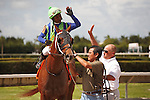 Mico Margarita with jockey Ricardo Santana Jr. up easily wins the Carry Back Stakes(G3) at  Calder Race Course, Summit of Speed day. Miami Gardens,  Florida. 07-06-2013