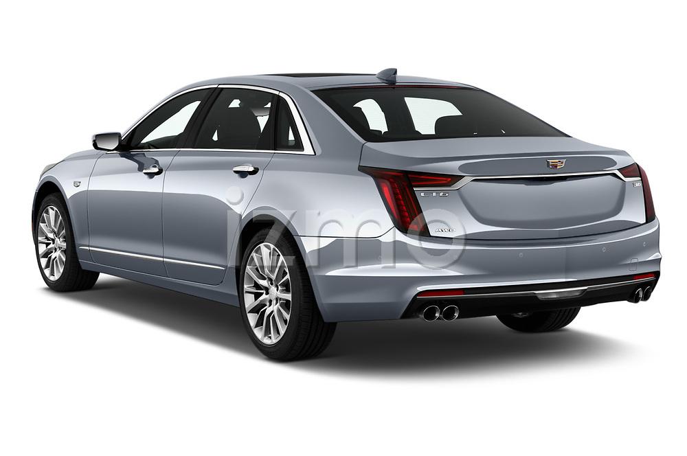 Car pictures of rear three quarter view of 2019 Cadillac CT6 Premium-Luxury 4 Door Sedan Angular Rear