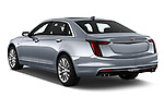 Car pictures of rear three quarter view of 2019 Cadillac CT6 Premium-Luxury 4 Door Sedan Angular Rear