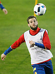 Spain's Nacho Fernandez during training session. March 21,2016. (ALTERPHOTOS/Acero)