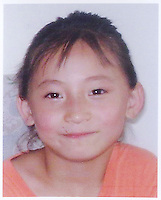 Feng Yun (9), born in Nov 1999. Missing on 30 March 2008. Girls in China are increasingly targeted and stolen as there is a shortage of wives as the gender imbalance widens with 120 boys for every 100 girls..PHOTO BY SINOPIX