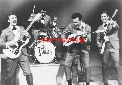 The Ventures..photo from promoarchive.com/ Photofeatures....
