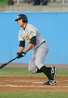 July 16, 2009: Infielder Kent Sakamoto (27) of the Lynchburg Hillcats, Carolina League affiliate of the Pittsburgh Pirates, in a game at G. Richard Pfitzner Stadium in Woodbridge, Va. Photo by: Tom Priddy/Four Seam Images