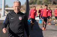 Lisbon, Portugal - Friday November 10, 2017: The USMNT training at Cidade do Futebol.