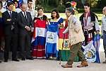 "Miguel de la Quadra-Salcedo during Royal Audience to a representation of young participating in the cultural program ""Ruta BBVA 2015"" at Zarzuela Palace in Madrid, July 28, 2015. <br /> (ALTERPHOTOS/BorjaB.Hojas)"