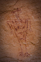 Birdman Pictograph - Utah