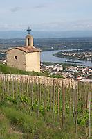 The la chapelle chapel vineyard tain l hermitage rhone france