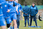 St Johnstone Training…14.04.17<br />Tommy Wright talks with Callum Davidson during training at McDiarmid Park this morning ahead of tomorrow's game against Aberdeen.<br />Picture by Graeme Hart.<br />Copyright Perthshire Picture Agency<br />Tel: 01738 623350  Mobile: 07990 594431