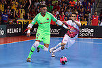 League LNFS 2018/2019.<br /> Play Off. Game: 5.<br /> FC Barcelona Lassa vs El Pozo Murcia: 3-2.<br /> Juanjo vs Alex.