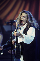 November 1992 File Photo - Montreal, Quebec CANADA - WORLD ON EDGE perform at CFCF telethon for the Montreal Children's Hospital