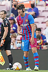 FC Barcelona's Gavi during La Liga match. August 29, 2021. (ALTERPHOTOS/Acero)