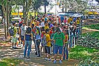 Trote em alunos da Universidade de São Paulo, USP. São Carlos. São Paulo. 2014. Foto de Juca Martins.