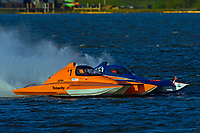 "Al Thompson, S-1  ""Tenacity"" and Alexis Weber S-55 (2.5 Litre Stock hydroplane(s)"