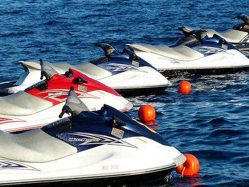 File image of jet skis