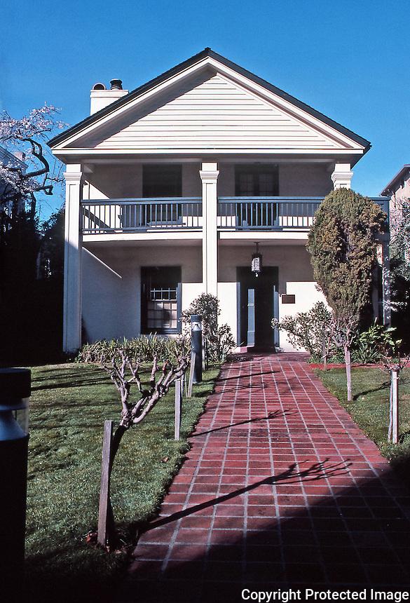 Merritt House: 386 Pacific Street. 1860's.