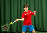 Rotterdam, The Netherlands, March 11, 2016,  TV Victoria, , NOJK 12/16 years, Luka Novakovic <br /> Photo: Tennisimages/Henk Koster