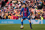 Sergio Busquets of FC Barcelona in action during the La Liga 2017-18 match between FC Barcelona and RC Celta de Vigo at Camp Nou Stadium on 02 December 2017 in Barcelona, Spain. Photo by Vicens Gimenez / Power Sport Images